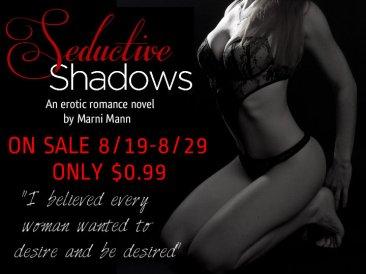 Seductive Shadows $0.99 August Promo