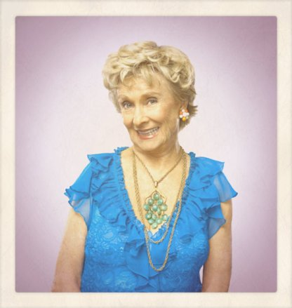 Cloris Leechman as Ms. Greener - Caroline's Bus Driver and Friend
