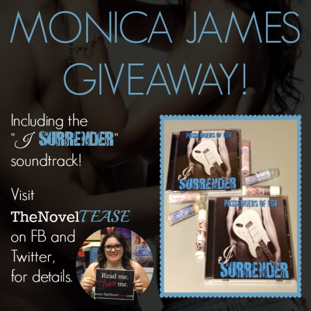 Monica James Giveaway