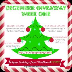 December Giveaway WEEK 1