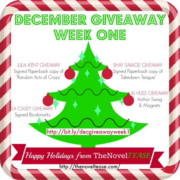 December Giveaway WEEK 1