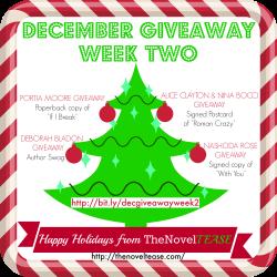 December Giveaway WEEK 2