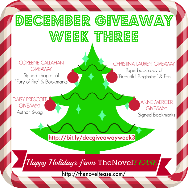 December Giveaway WEEK 3