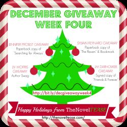 December Giveaway WEEK 4